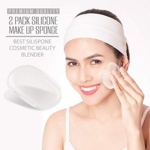 2 Pack Silicone Makeup Sponge